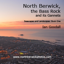 Front cover of North Berwick, the Bass Rock and its Gannets book by Ian Goodall